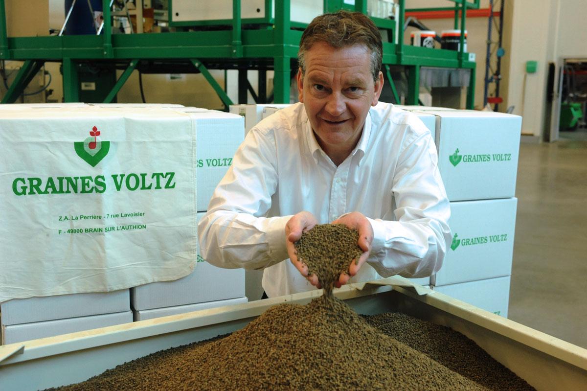 Serge Voltz : Président Directeur général Graines Voltz